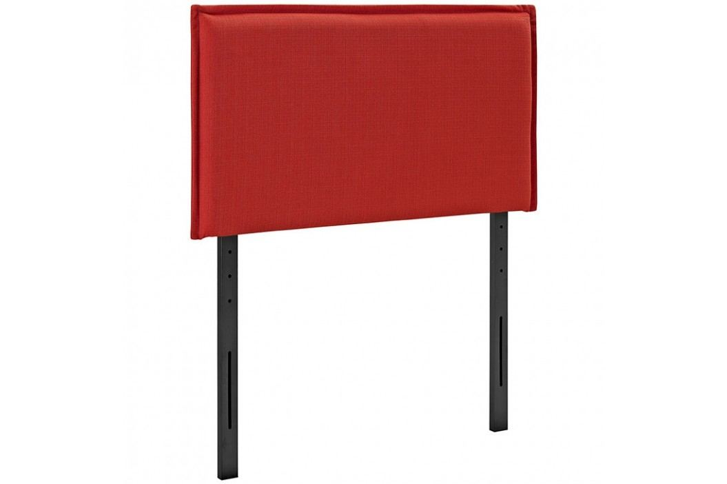 Camille Twin Fabric Headboard in Atomic Red Beds