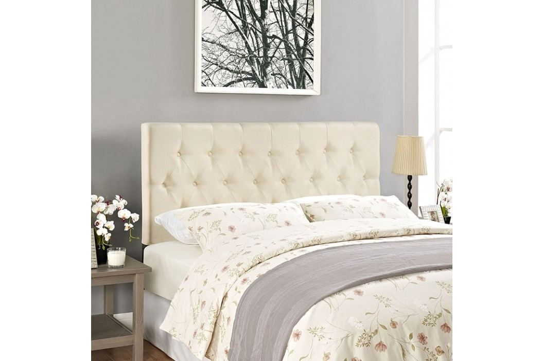 Clique King Headboard in Ivory Beds