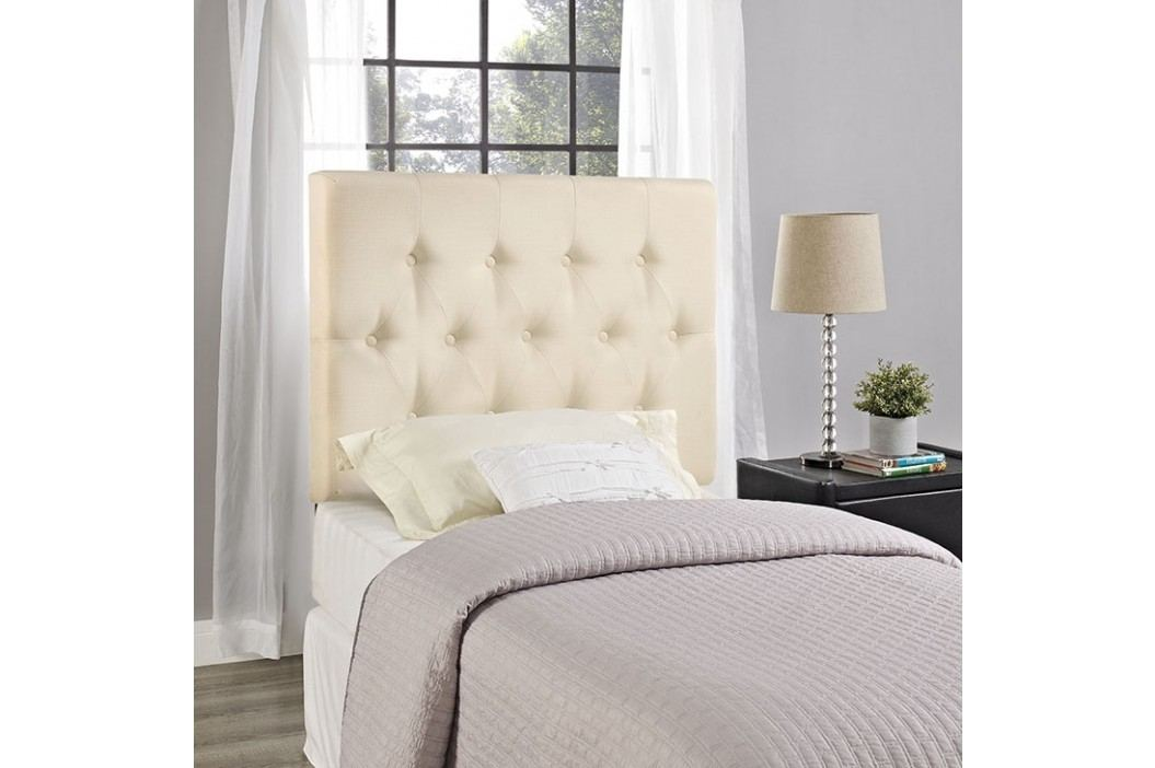 Clique Twin Headboard in Ivory Beds