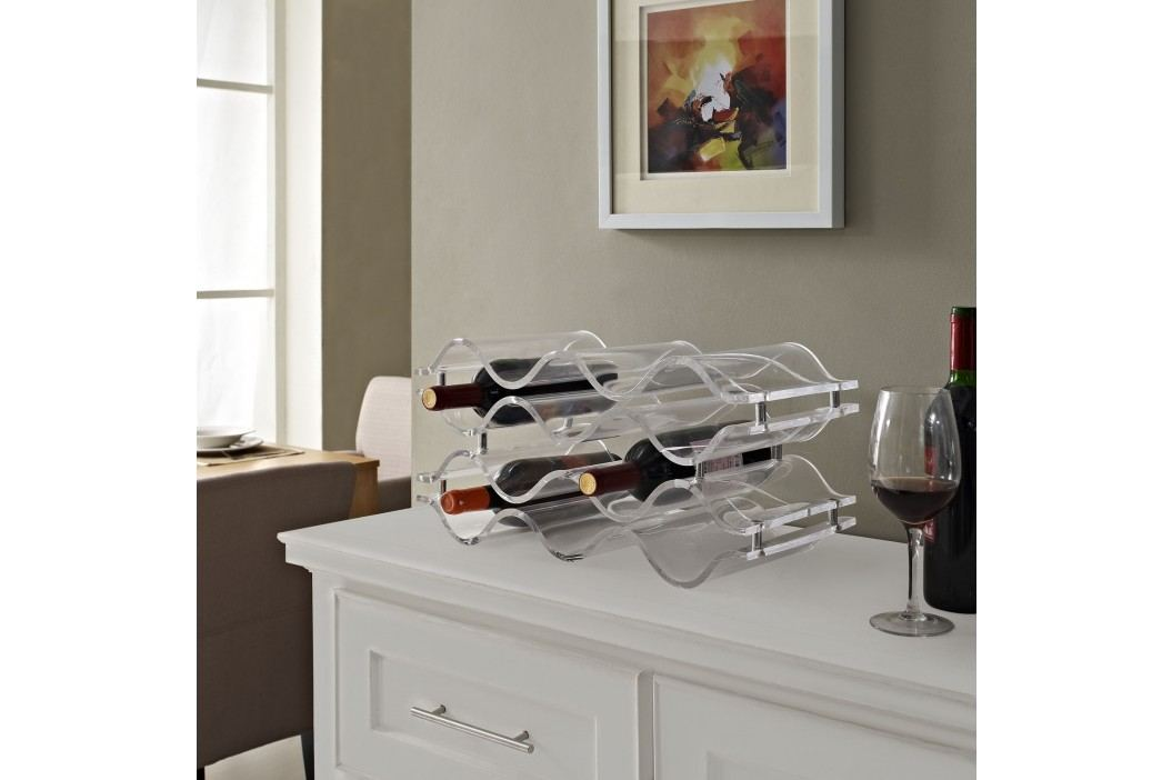 Reserve Wine Rack in Clear Accessories