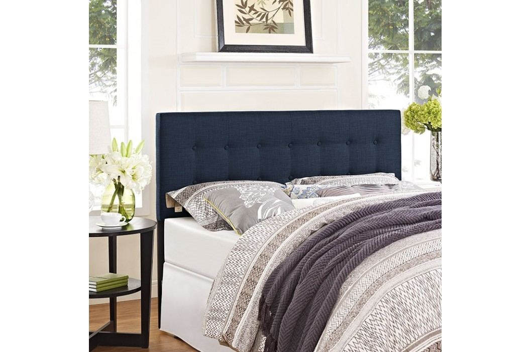 Emily Full Fabric Headboard in Navy Beds