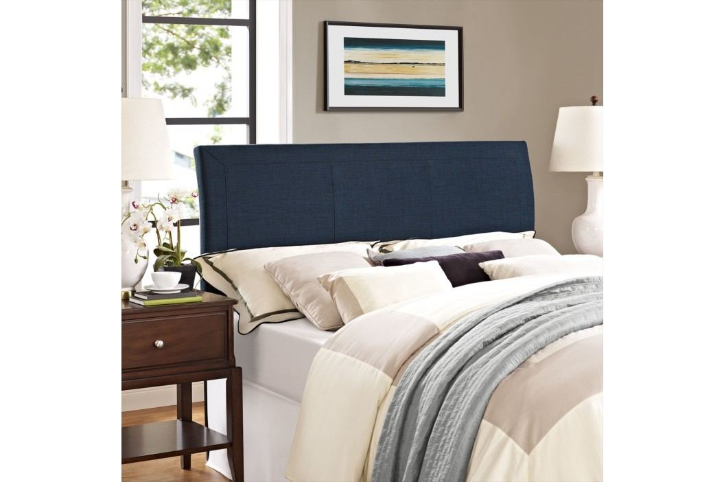 Isabella Queen Headboard in Navy Beds