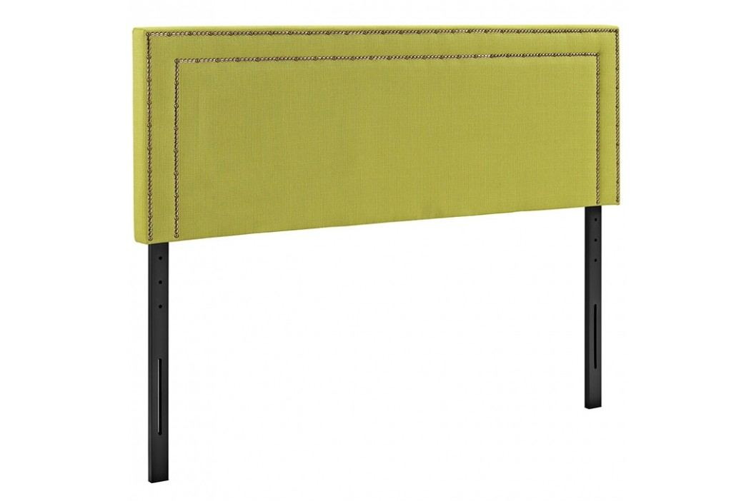 Jessamine Queen Fabric Headboard in Wheatgrass Beds