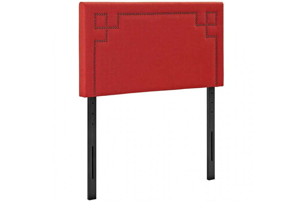 Josie Twin Fabric Headboard in Atomic Red Beds