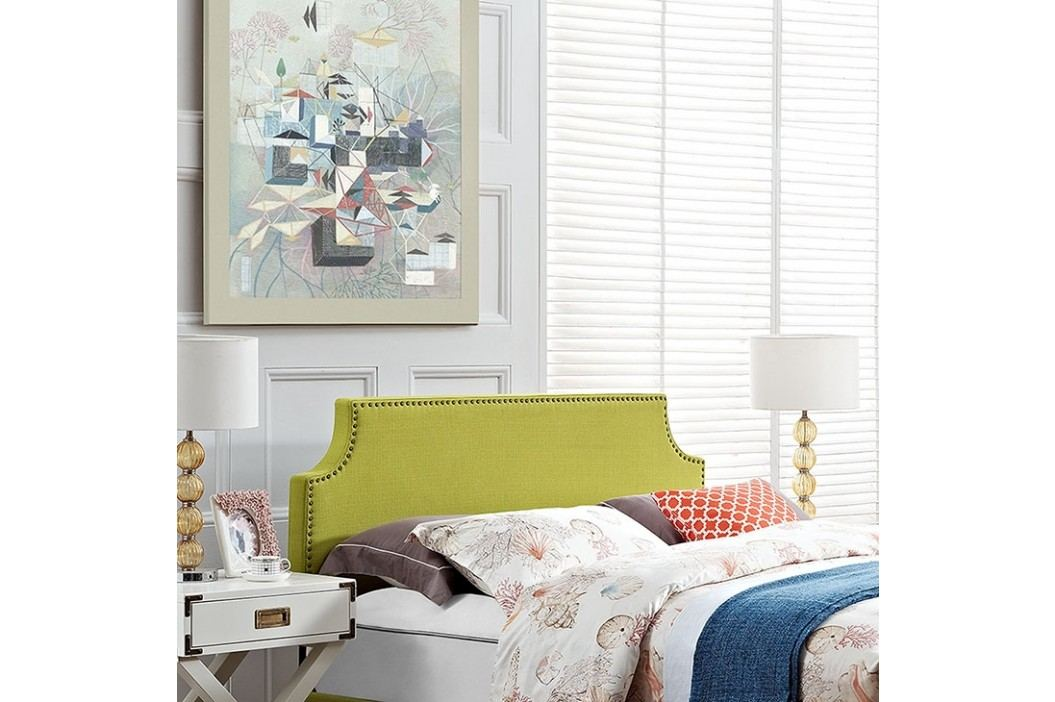 Laura King Fabric Headboard in Wheatgrass Beds