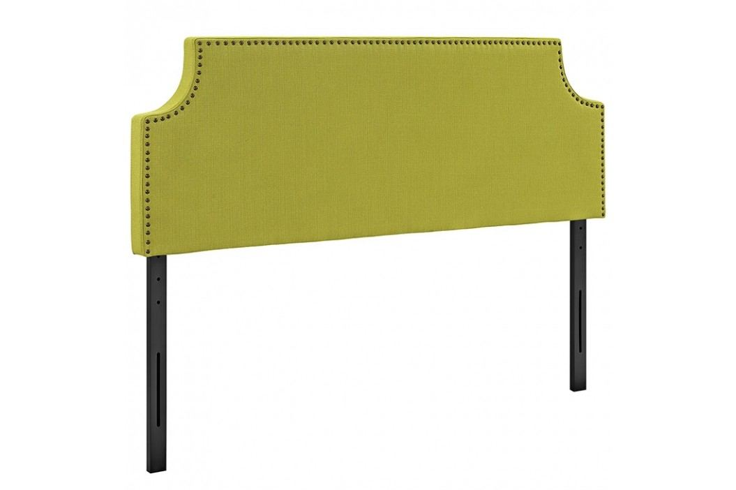 Laura Queen Fabric Headboard in Wheatgrass Beds