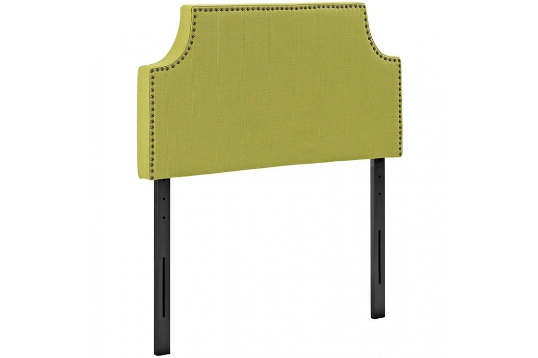 Laura Twin Fabric Headboard in Wheatgrass Beds