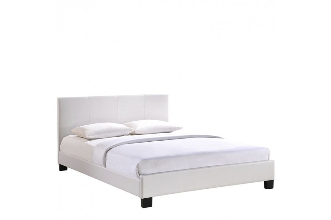 Alex King Vinyl Bed in White Beds