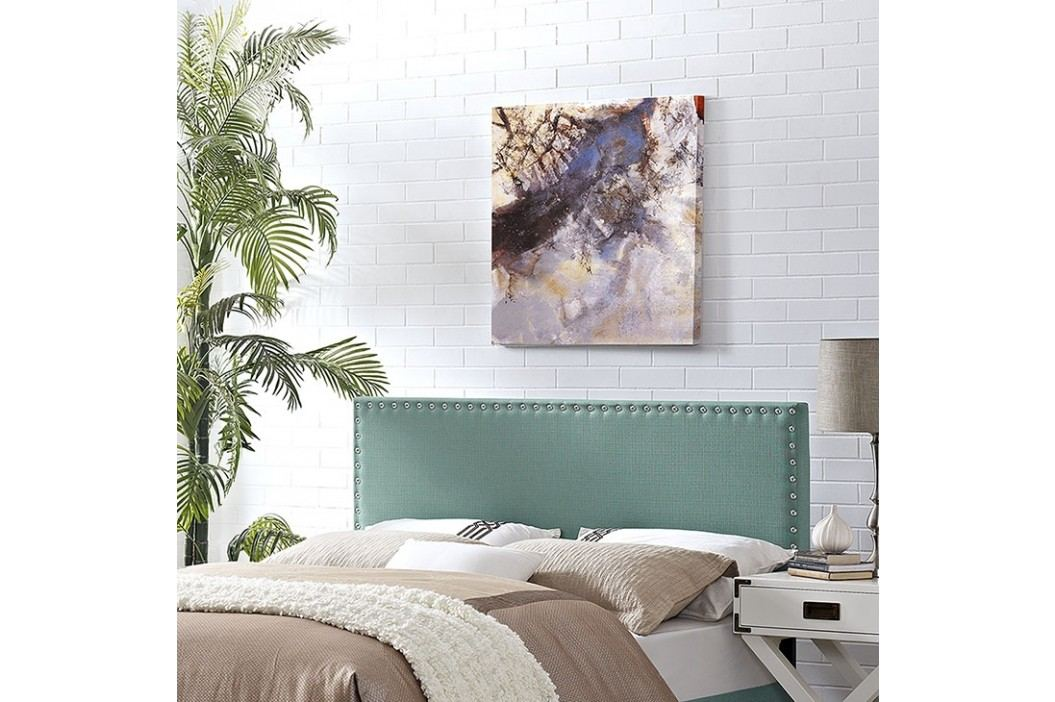 Phoebe Full Fabric Headboard in Laguna Beds