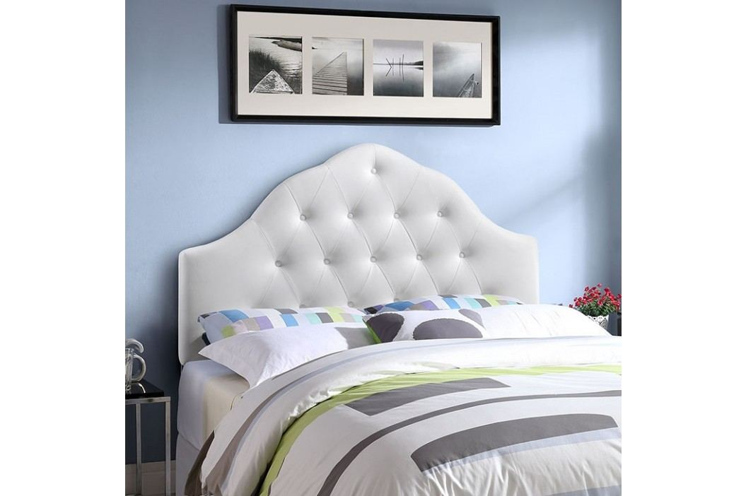 Sovereign King Vinyl Headboard in White