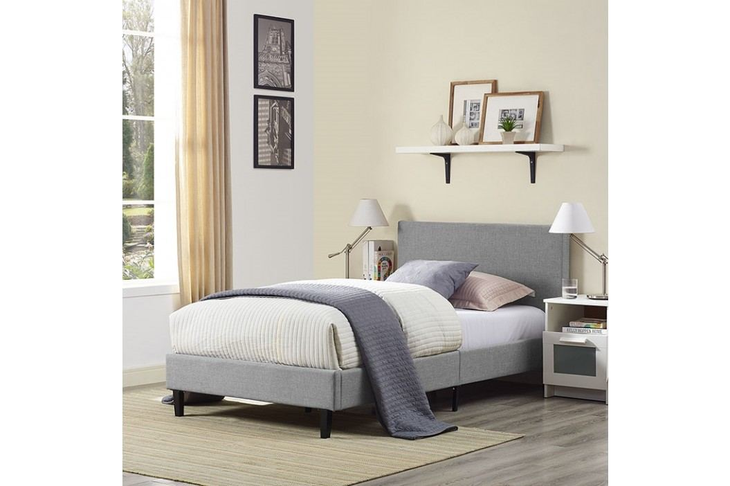 Anya Twin Bed in Light Gray Beds