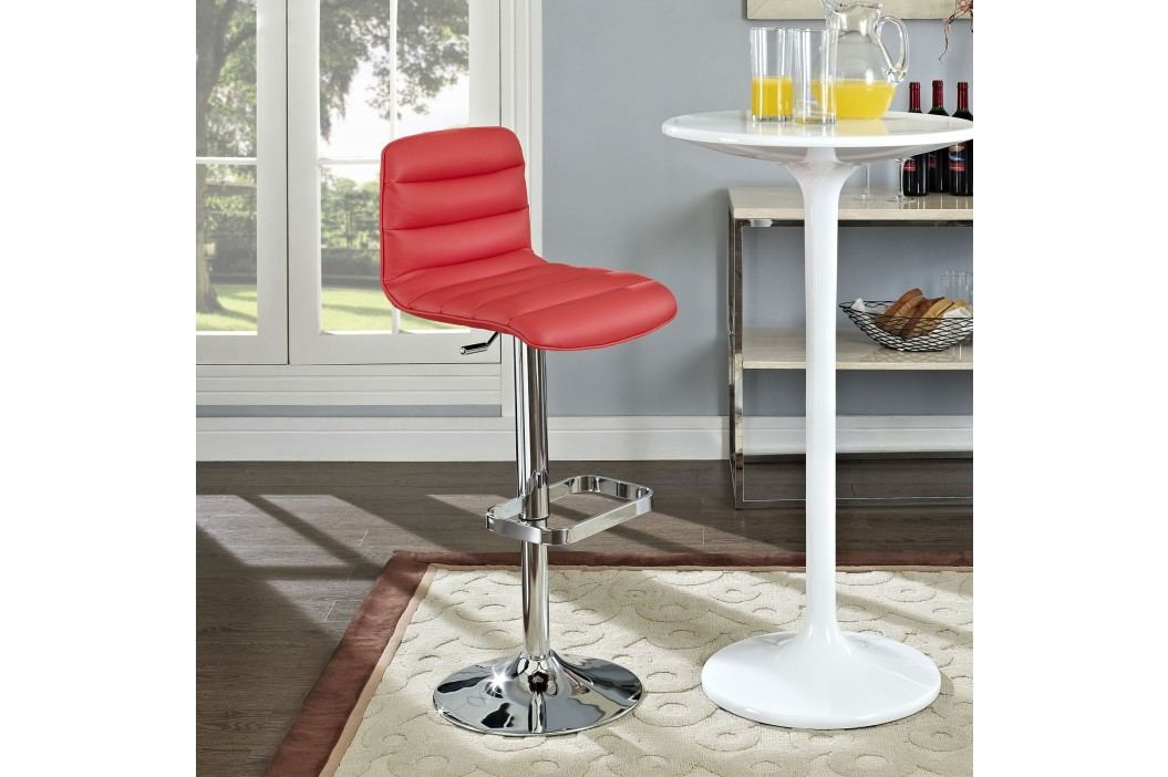 Ripple Bar Stool in Red Bar Tables and Stools