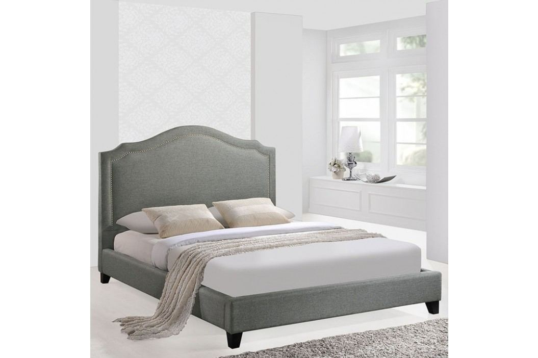 Charlotte Queen Bed in Gray Beds