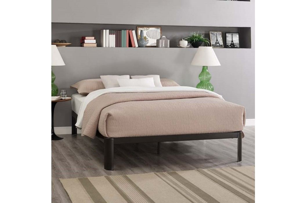 Corinne Full Bed Frame in Brown Beds