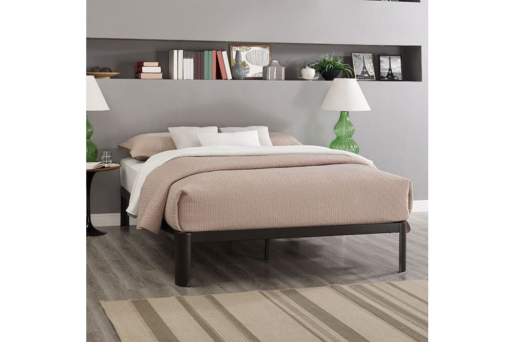 Corinne Queen Bed Frame in Brown Beds