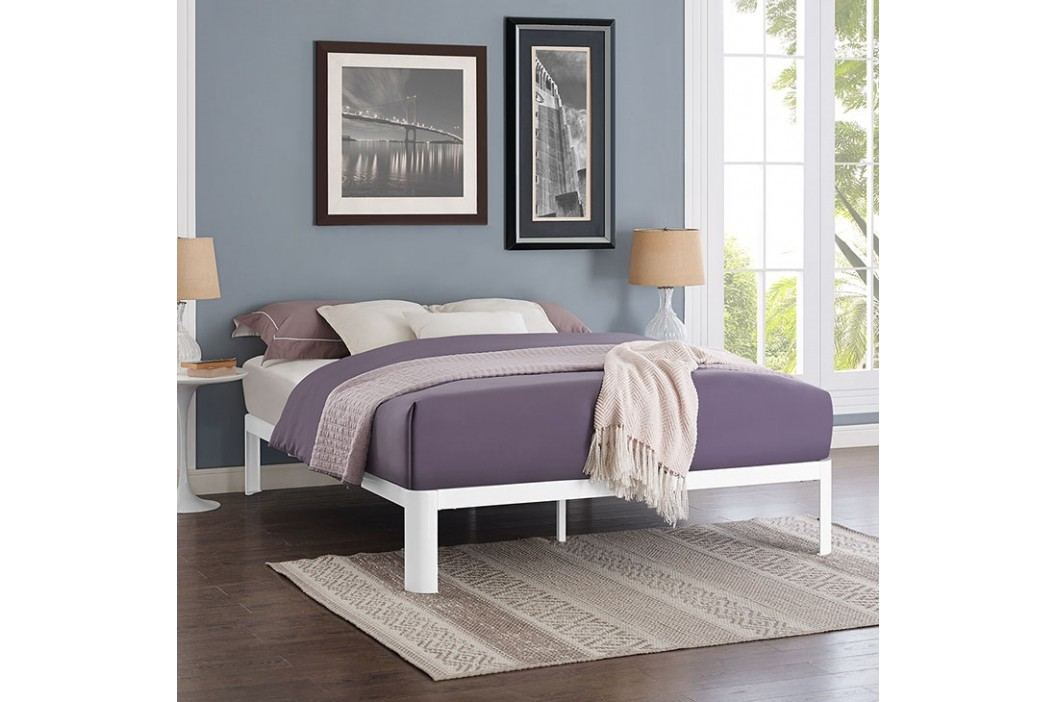 Corinne Queen Bed Frame in White Beds