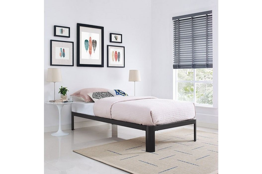 Corinne Twin Bed Frame in Brown Beds