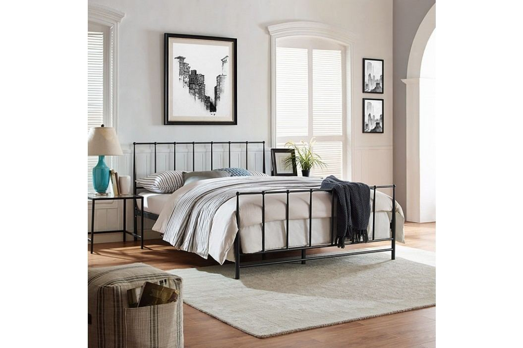 Estate King Bed in Brown Beds