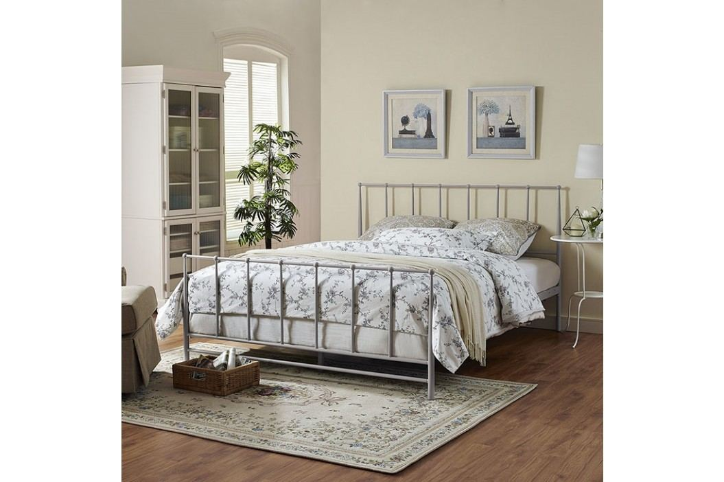 Estate King Bed in Gray Beds
