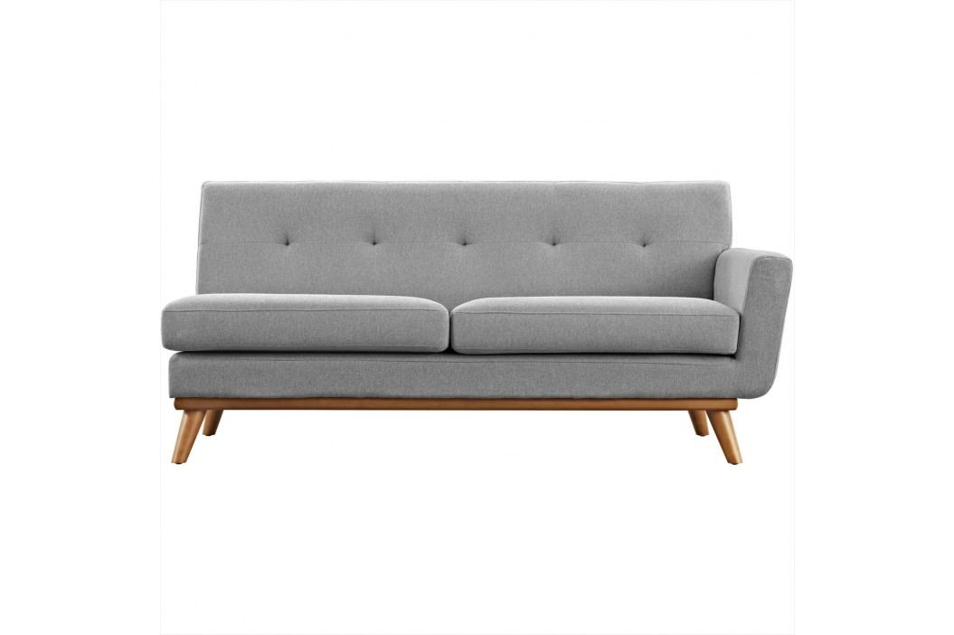Engage Right-Arm Loveseat in Expectation Gray Sofas