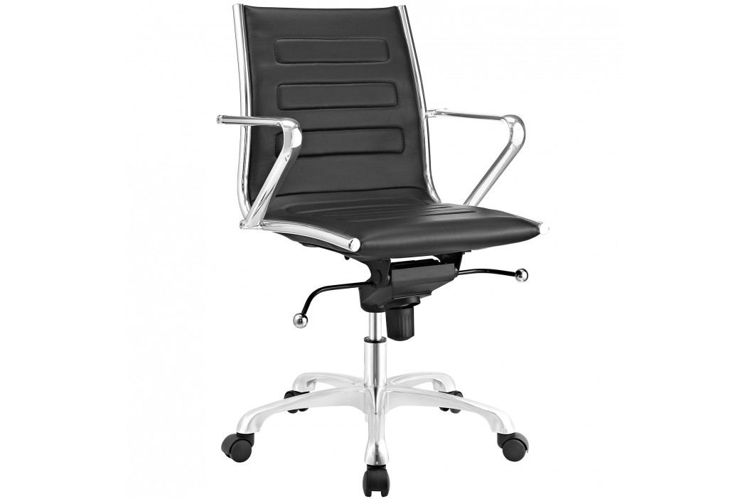 Ascend Mid Back Office Chair in Black Office Chairs