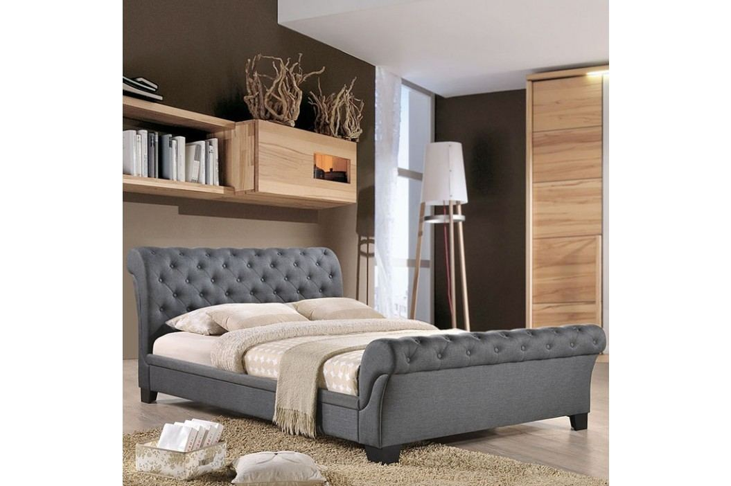 Kate Queen Fabric Bed in Gray Beds