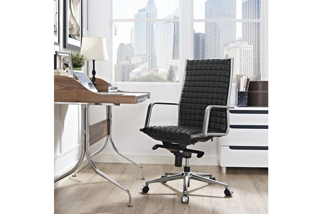 Pattern Highback Office Chair in Black Office Chairs
