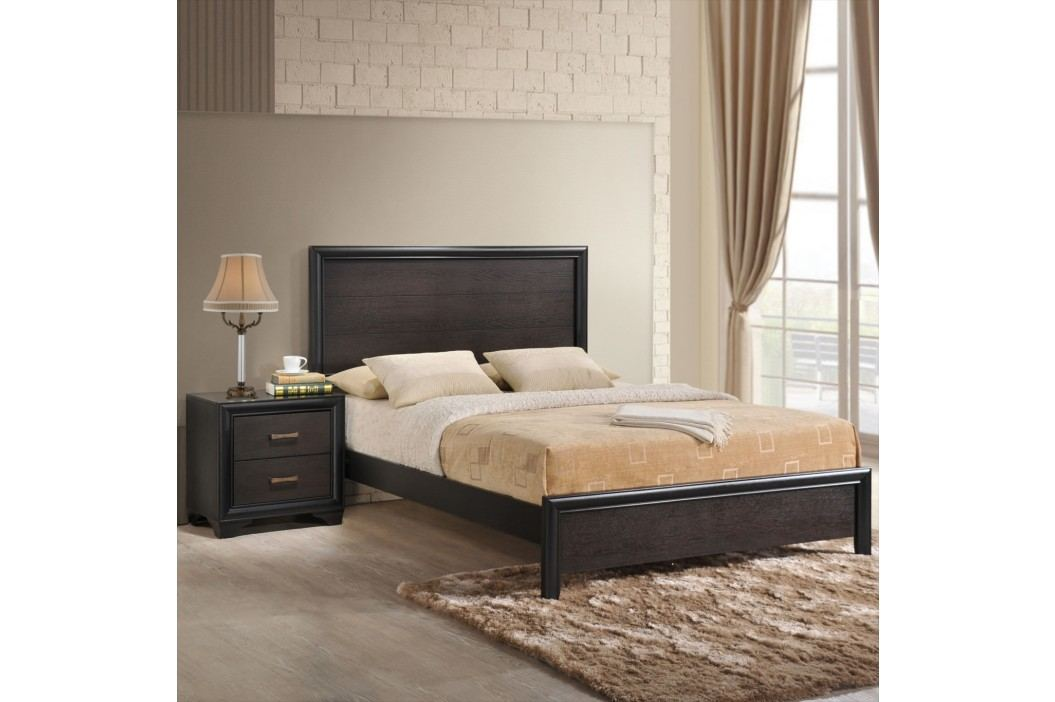 Madison 2 Piece Queen Walnut Bedroom Set in Walnut