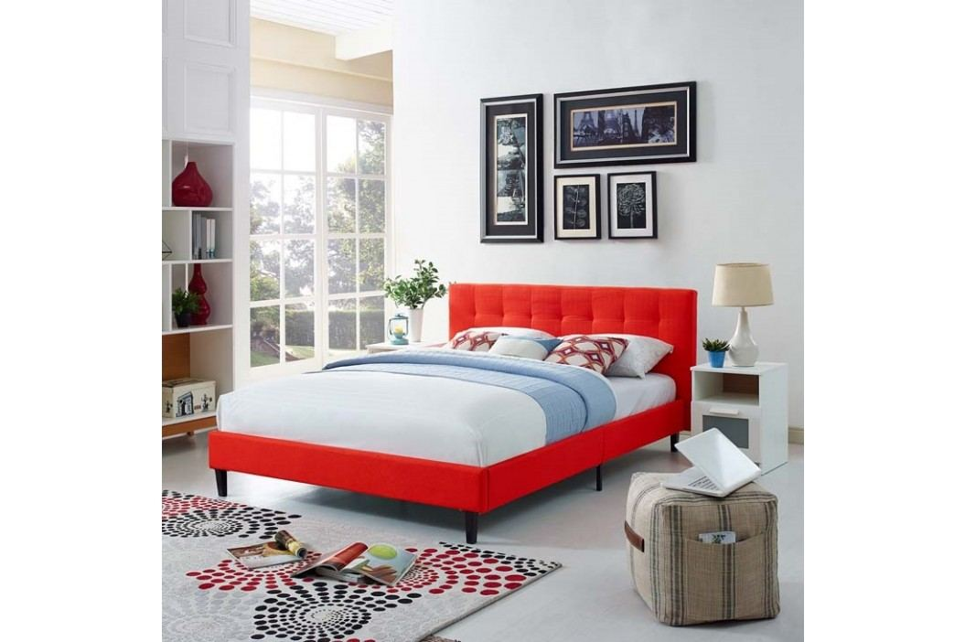 Linnea Full Bed in Atomic Red Beds
