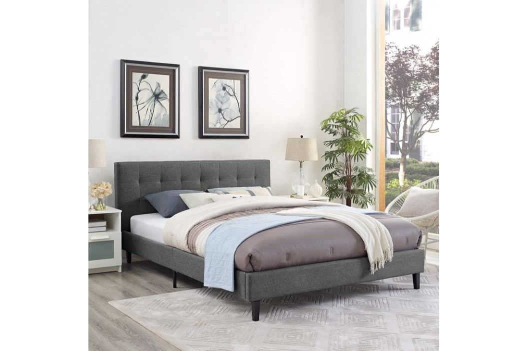 Linnea Full Bed in Gray Beds