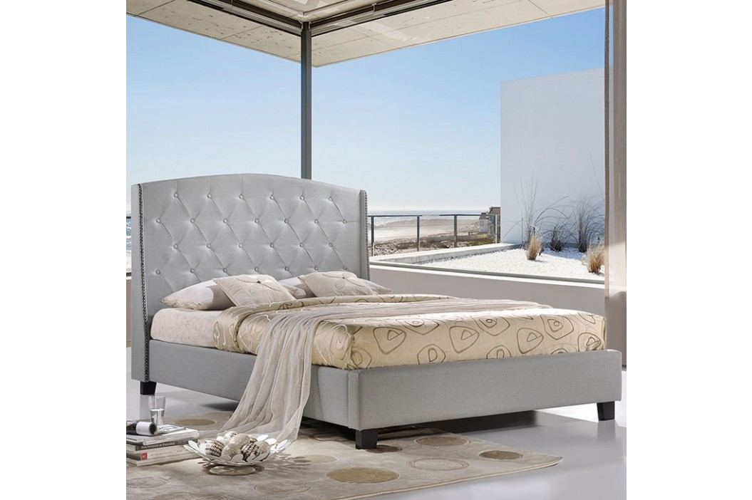 Lydia Queen Bed in Sky Gray Beds