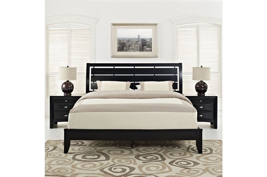 Olivia 3 Piece Queen Bedroom Set in Black Products