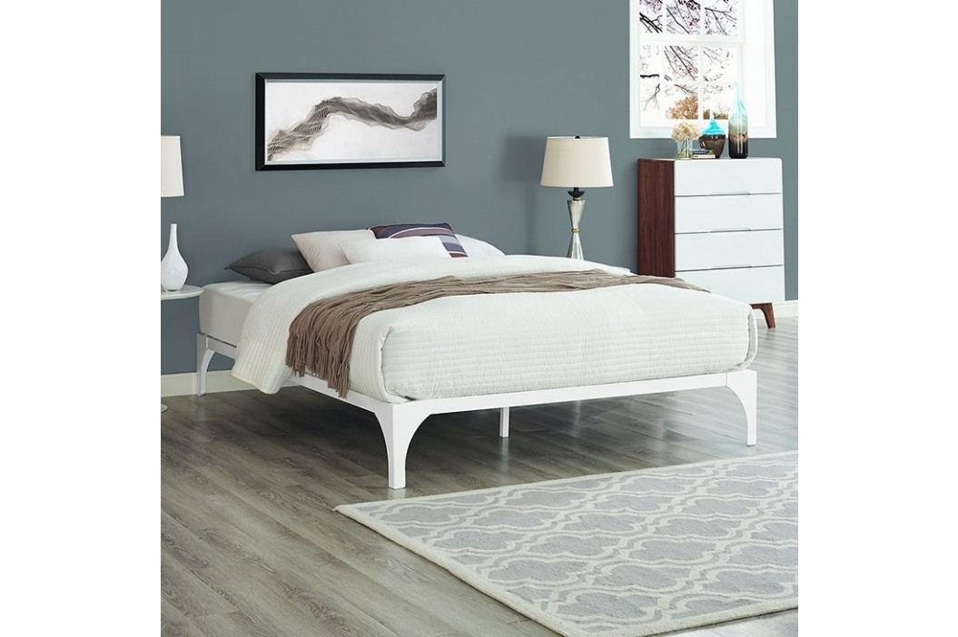 Ollie Queen Bed Frame in White Beds