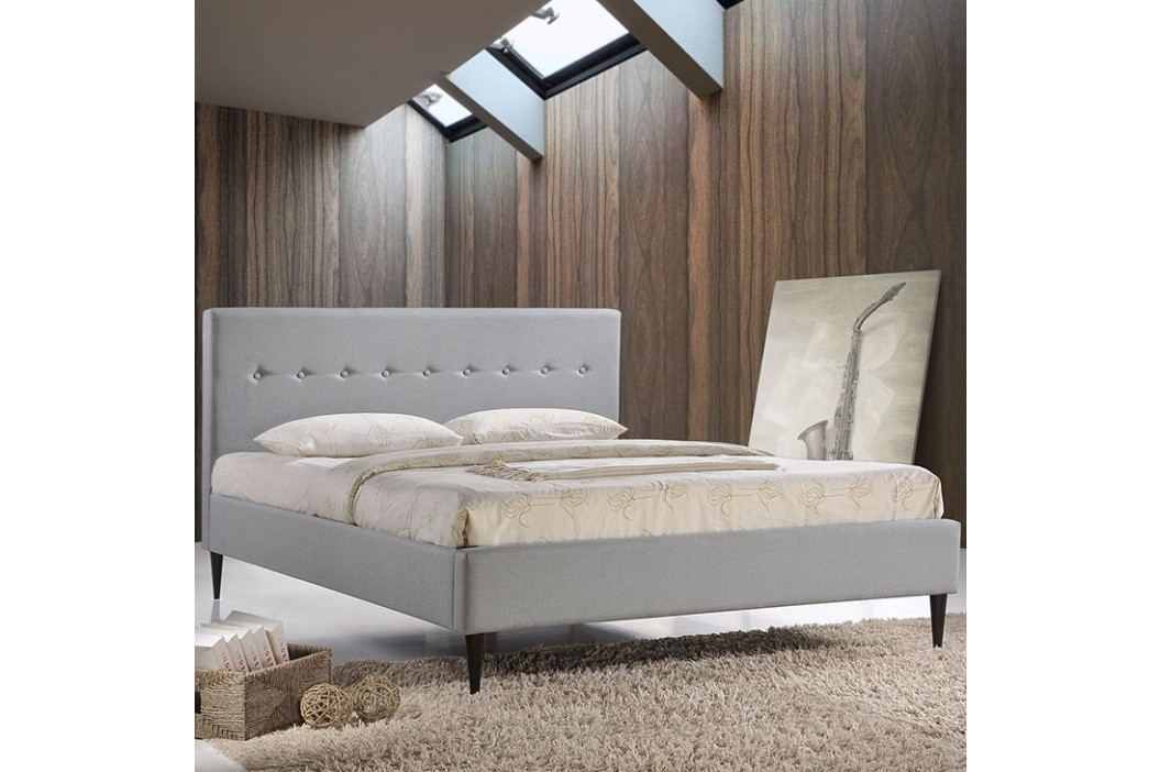 Stacy Queen Bed in Sky Gray Beds