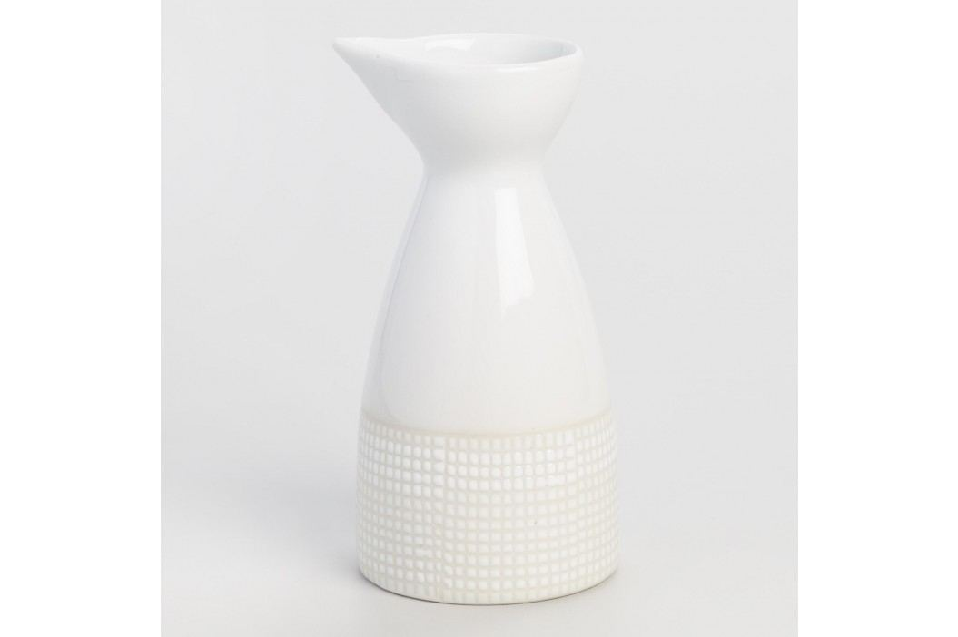Dotted Porcelain Sake Bottle: White by World Market Products