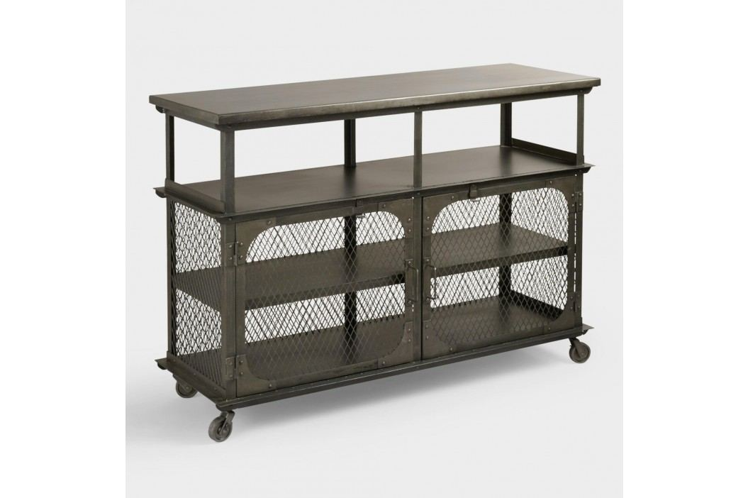 Metal Bexley Bar: Gray/Silver by World Market Products