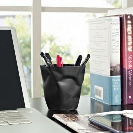 Lava Pencil Holder in Black