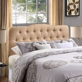 Annabel Full Fabric Headboard in Beige