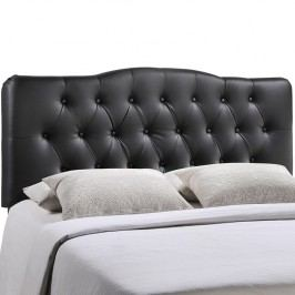 Annabel Full Vinyl Headboard in Black