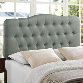 Annabel King Fabric Headboard in Gray