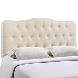 Annabel King Fabric Headboard in Ivory
