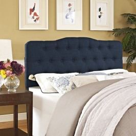 Annabel Queen Fabric Headboard in Navy