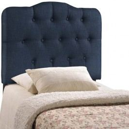 Annabel Twin Fabric Headboard in Navy