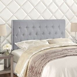 Clique Full Headboard in Sky Gray
