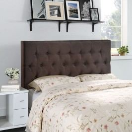 Clique Queen Headboard in Dark Brown