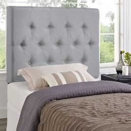 Clique Twin Headboard in Sky Gray