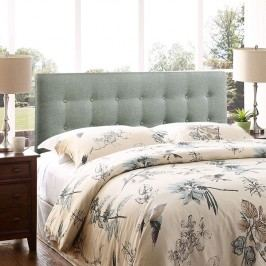 Emily Full Fabric Headboard in Gray