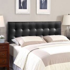 Emily Full Vinyl Headboard in Black