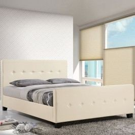 Abigail Queen Bed in Ivory