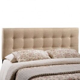 Emily Queen Fabric Headboard in Beige